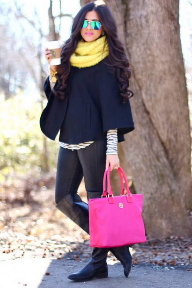Stylish and Warm 20 Great Street Style Outfit Ideas (2)