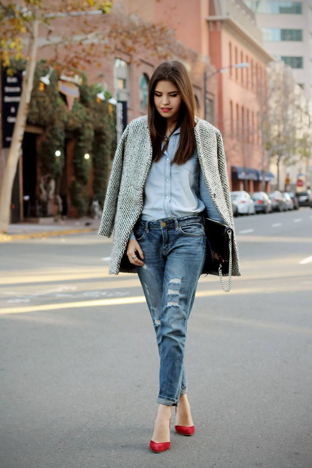 Stylish and Warm 20 Great Street Style Outfit Ideas (3)