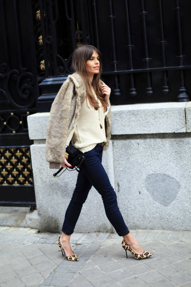 Stylish and Warm 20 Great Street Style Outfit Ideas (4)