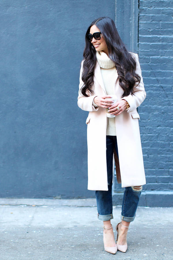 Stylish and Warm 20 Great Street Style Outfit Ideas (8)