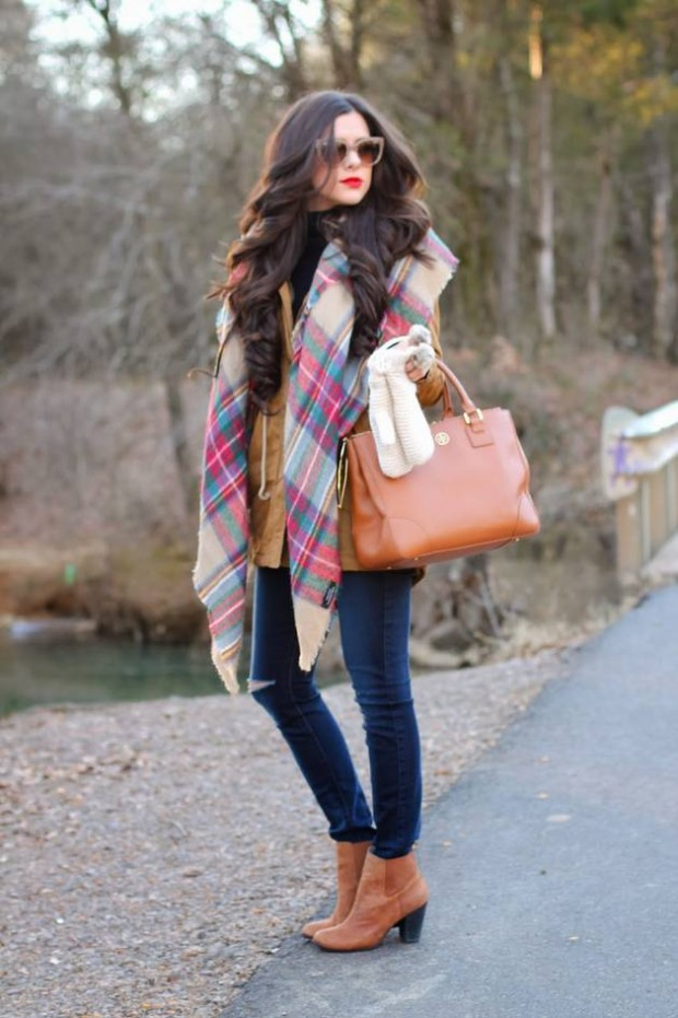 Stylish and Warm 20 Great Street Style Outfit Ideas (9)