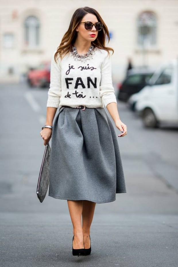 Trendy Skirts for This Season 21 Stylish Outfit Ideas  (1)