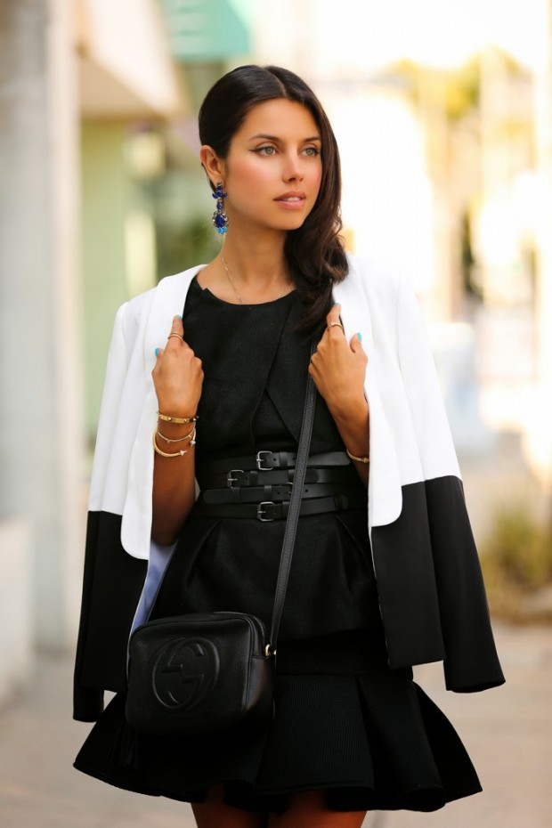 23 Timeless Womens Combination With Stylish Black&White Colors
