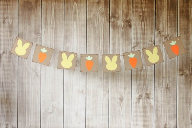 15 Awesome Handmade Easter Banner Decorations (1)