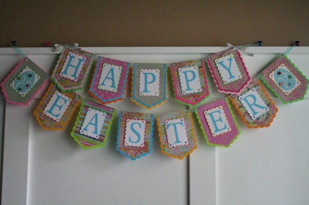 15 Awesome Handmade Easter Banner Decorations (4)