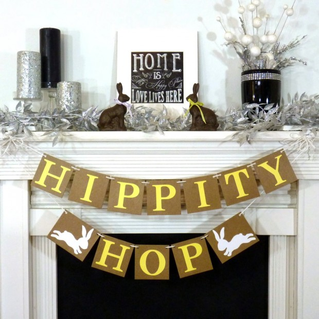 15 Awesome Handmade Easter Banner Decorations (6)