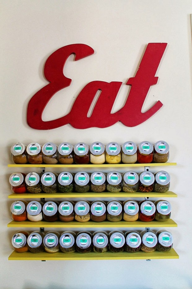 15 Great DIY Projects to Improve Your Kitchen Organization (4)