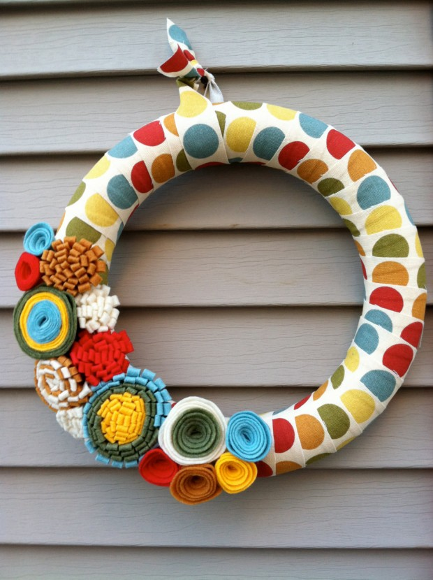 16 Cute Handmade Easter Wreath Ideas