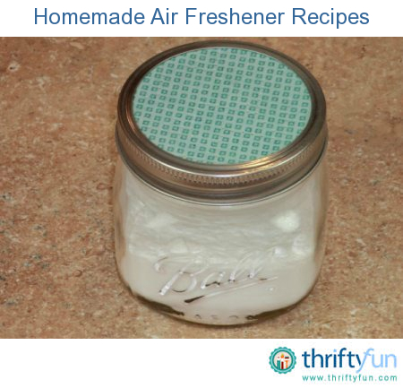 16 Great DIY Natural Air Fresheners for Your Home