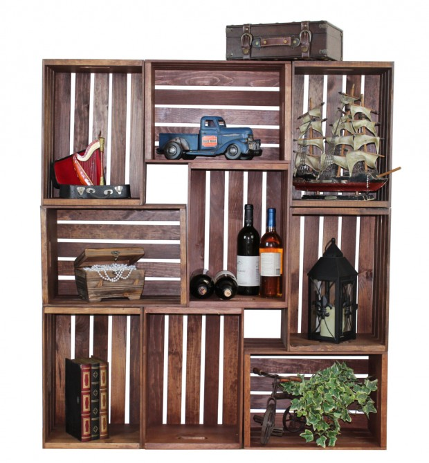 16 Handy DIY Projects From Old Wooden Crates (14)