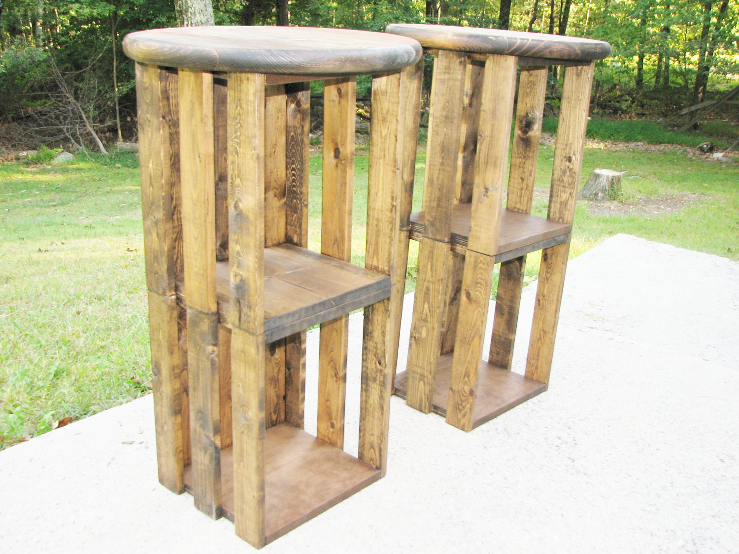 how to build bar stools out of wood