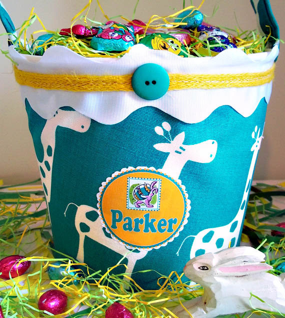 17 Adorable Handmade Easter Basket Designs