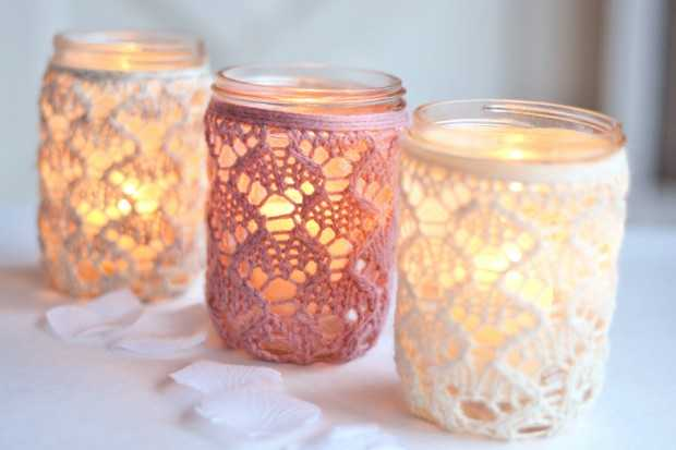 17 Amazing Handmade Candle Decoration DIY Ideas