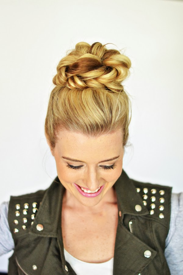 17 Gorgeous Easy Hairstyle Ideas for Spring Days (8)
