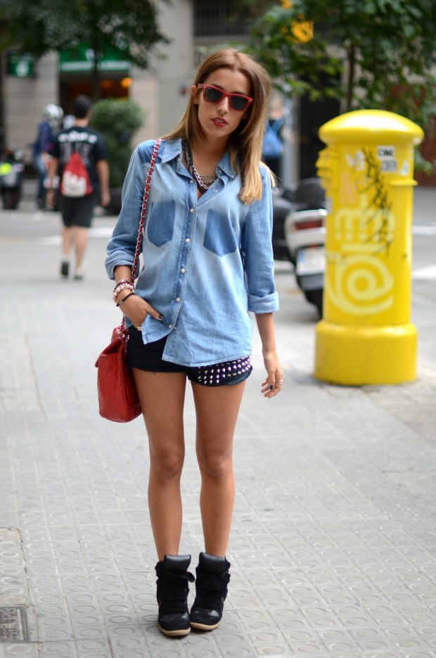 Top 21 Divine Examples of Denim Outfits Spring 2014