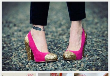 15 Adorable DIY Tutorials How To Make a New Shoes From Your Old Ones - Woman shoes, DIY shoes, creative diy