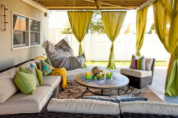 18 Amazing Moroccan Style Patio Design Ideas - Style Motivation