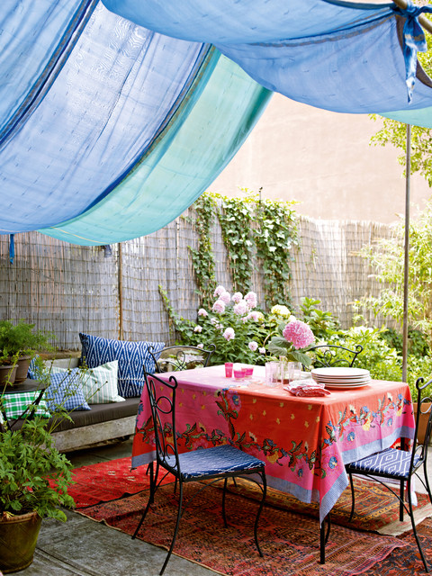 Moroccan Style Patio Design Ideas