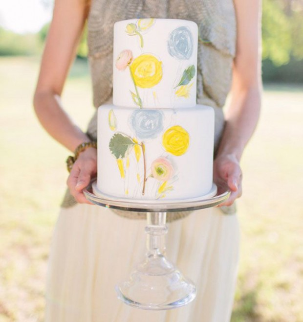 18 Beautiful Ideas for Perfect Wedding Cake Decoration (10)