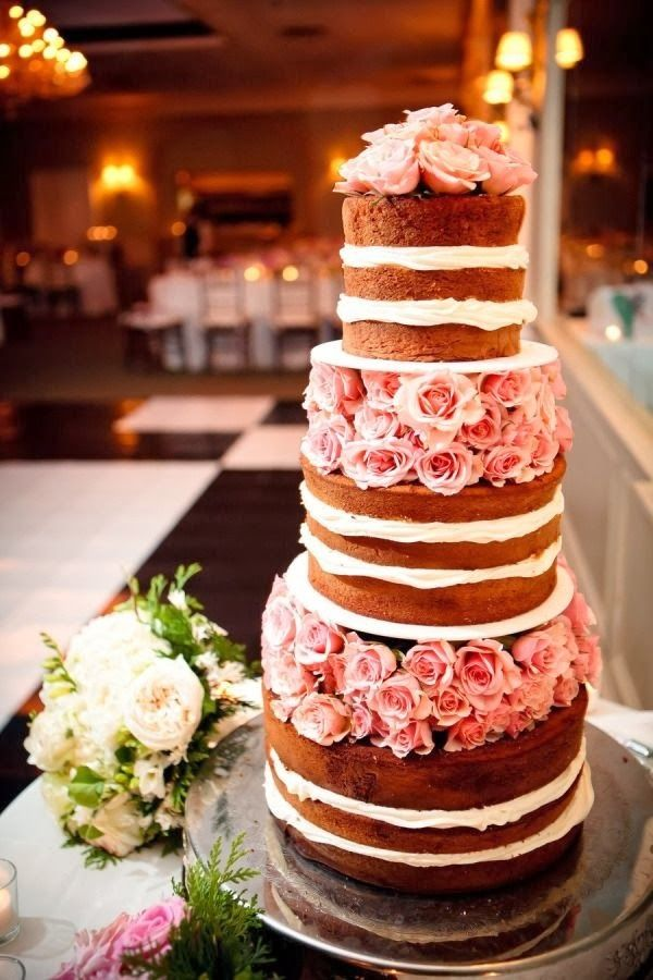 18 Beautiful Ideas for Perfect Wedding Cake Decoration (17)