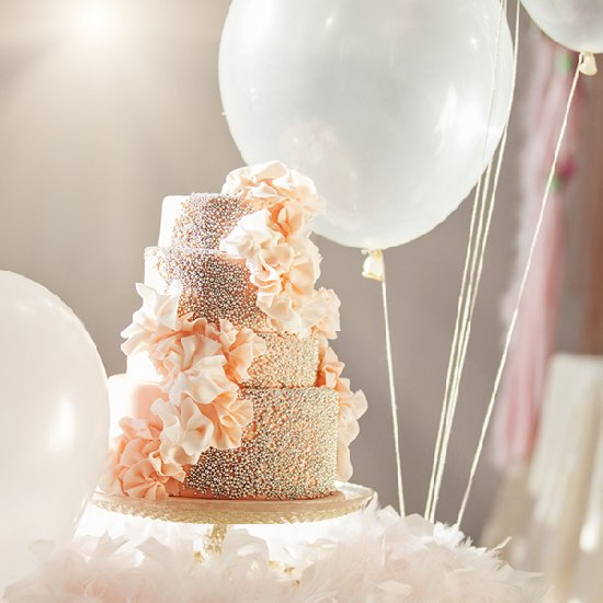 18 Beautiful Ideas for Perfect Wedding Cake Decoration (2)