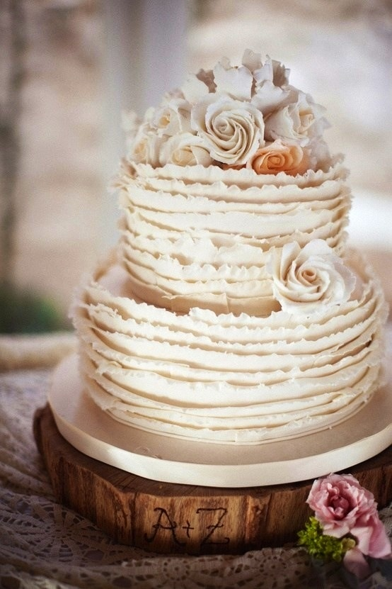 18 Beautiful Ideas for Perfect Wedding Cake Decoration (4)