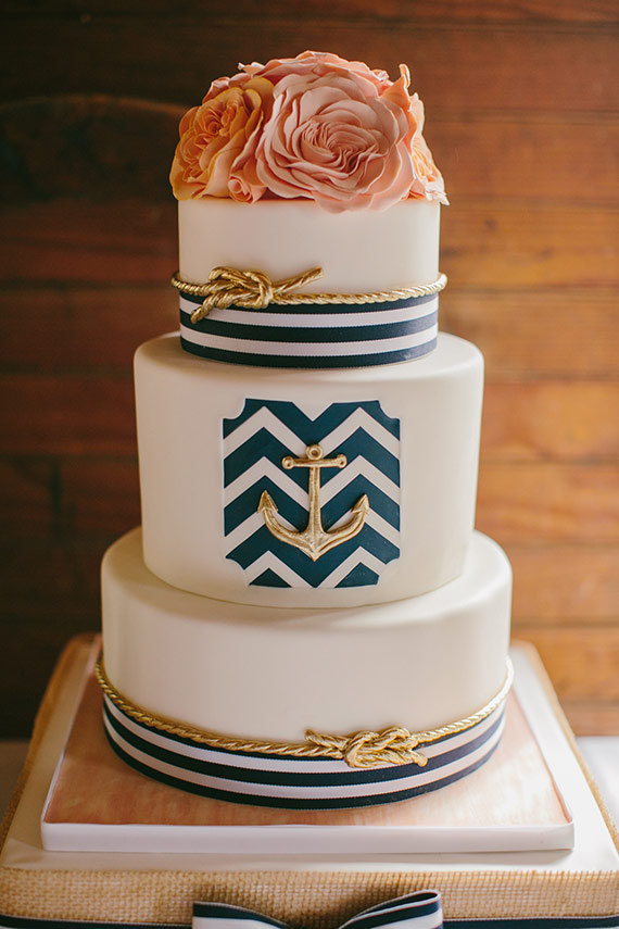 18 Beautiful Ideas for Perfect Wedding Cake Decoration (6)