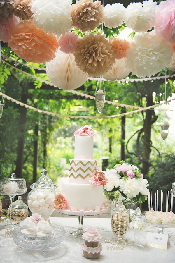 18 Beautiful Ideas for Perfect Wedding Cake Decoration (7)