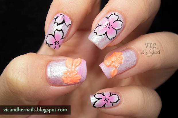 18 Colorful and Floral Ideas to Inspire Your Next Nail Design