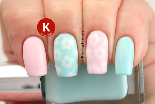 18 Colorful and Floral Ideas to Inspire Your Next Nail Design (1)