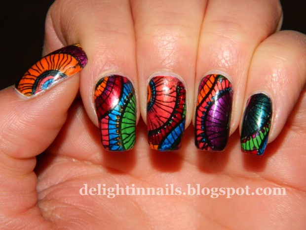 18 Colorful and Floral Ideas to Inspire Your Next Nail Design (2)