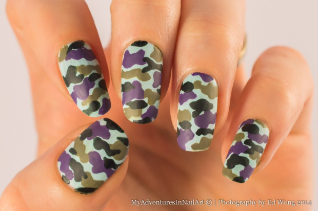 18 Colorful and Floral Ideas to Inspire Your Next Nail Design (7)