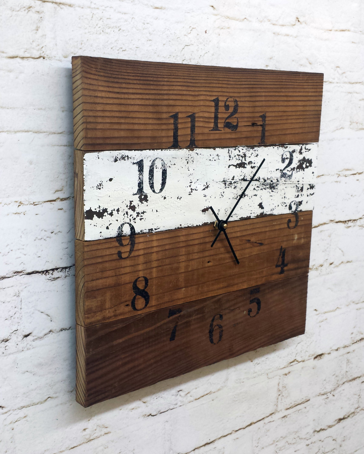 18 creative and handmade wall clock designs style motivation for Reusable wood