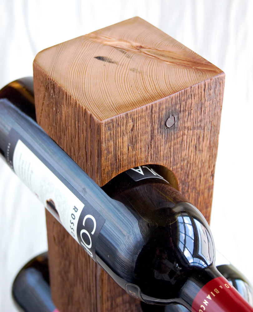 18 Elegant And Creative Handmade Wine Holders Style