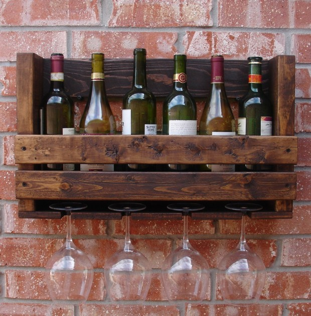 18 Elegant and Creative Handmade Wine Holders