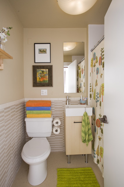 18 Functional Design Ideas for Small Bathrooms (2)