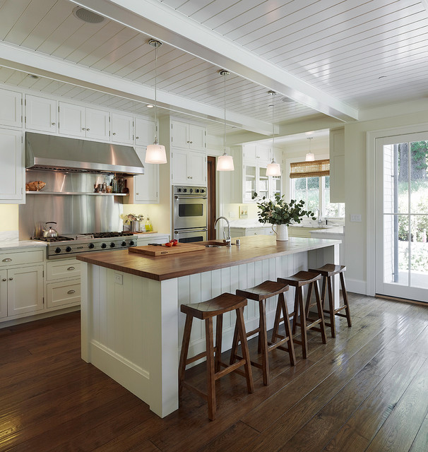 Kitchen Remodel White: 18 Gorgeous White Kitchen Design Ideas In Traditional