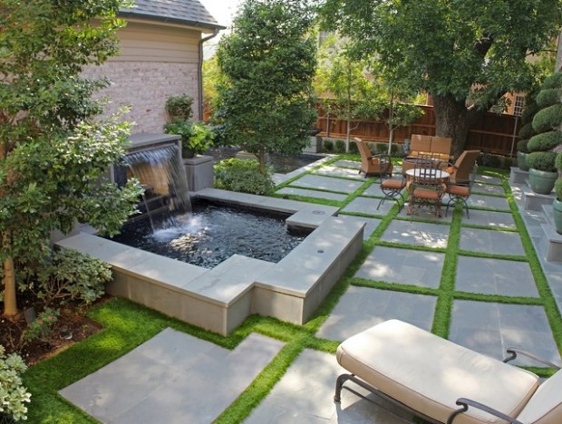 18 Great Design Ideas for Small City Backyards - Style ... on Cool Backyard Designs id=68508