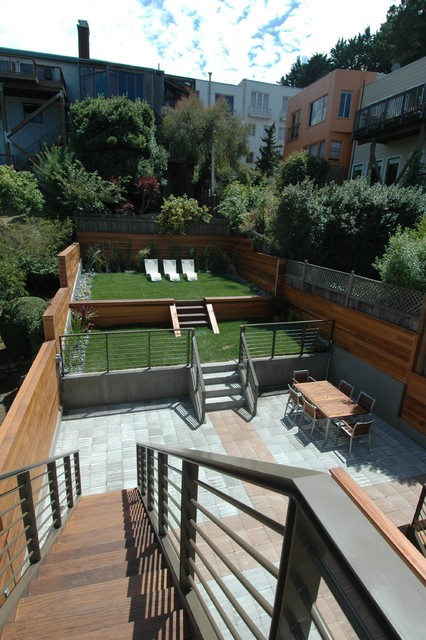 18 great design ideas for small city backyards style - Small backyard landscape designs ...