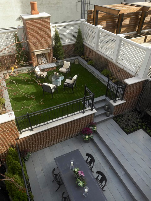 18 Great Design Ideas for Small City Backyards (7)