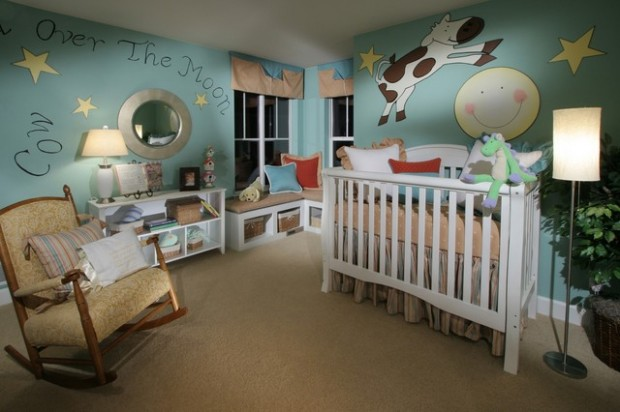 18 Lovely Design Ideas for Adorable Nursery Rooms - Style Motivation