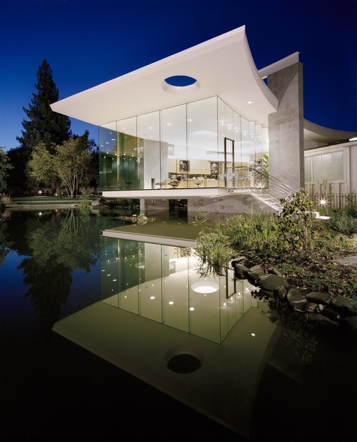 30 Contemporary Home Exterior Design Ideas: 18 Modern Glass House Exterior Designs