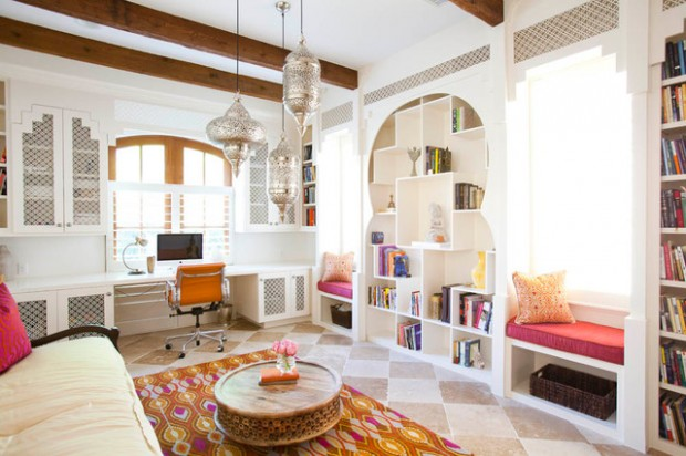 18 Modern Moroccan Style Living Room Design Ideas