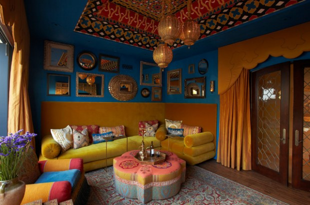 Genial 18 Modern Moroccan Style Living Room Design Ideas