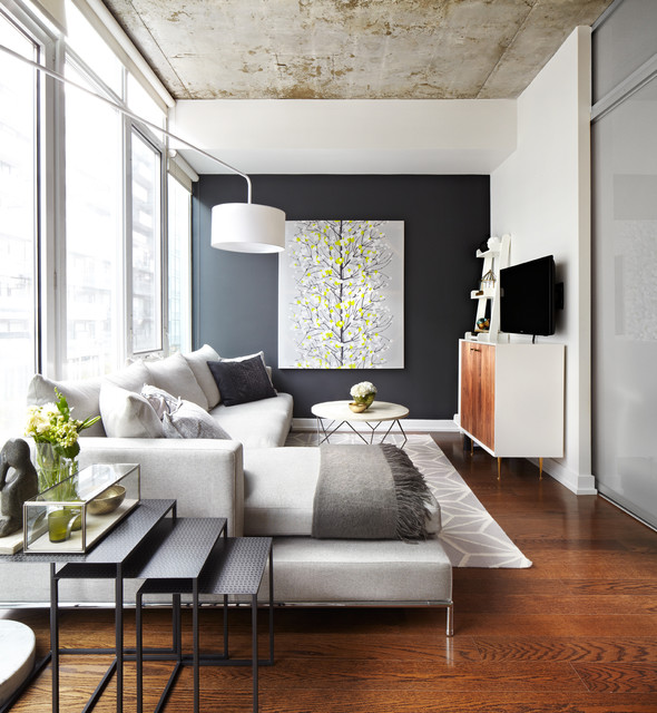 18 Smart Design and Décor Ideas for Small Living Rooms (3)