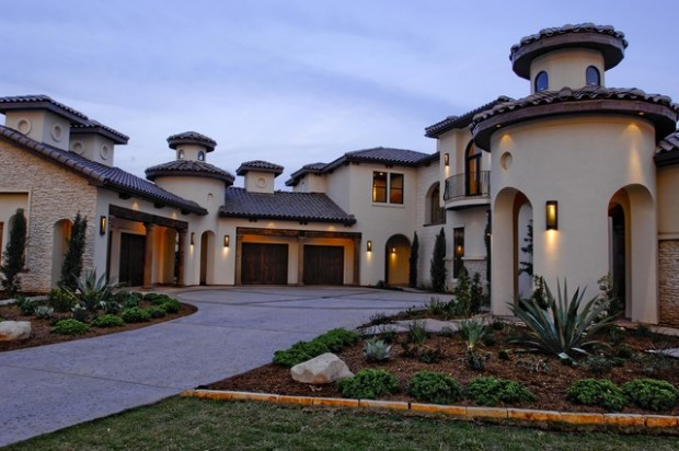 House Plans Small Open Concept On Stucco Spanish Ranch Style Homes