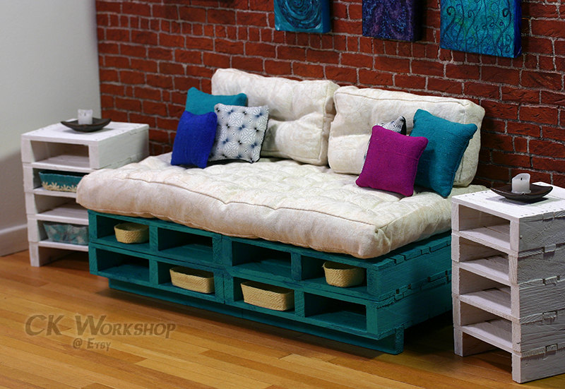 18 Useful and Easy DIY Ideas to Repurpose Old Pallet Wood on Pallet Room  id=32348