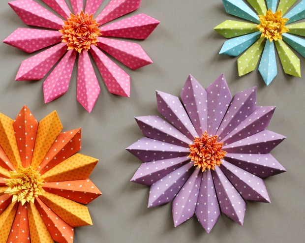 19 cute diy paper flower ideas to celebrate spring style motivation 19 cute diy paper flower ideas to celebrate spring mightylinksfo