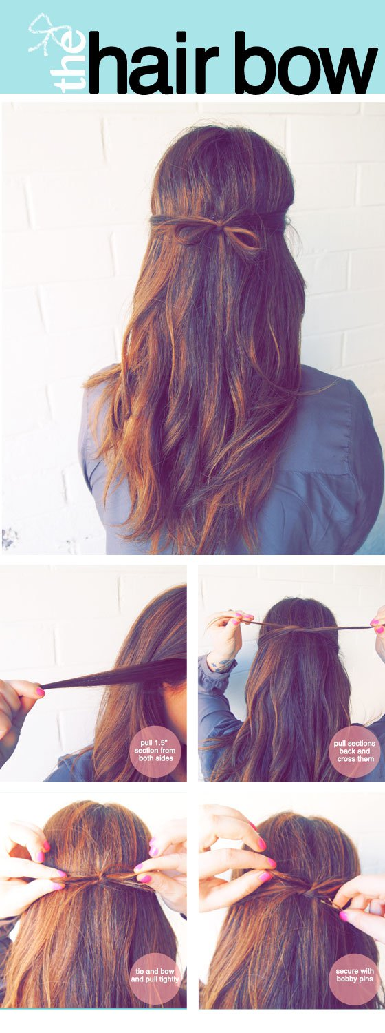 19 Cute and Easy Hairstyles that Can Be Done in 10 Minutes (11)