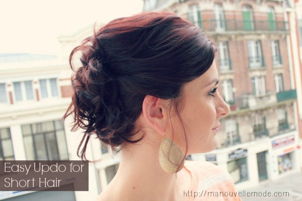 19 Cute and Easy Hairstyles that Can Be Done in 10 Minutes (14)